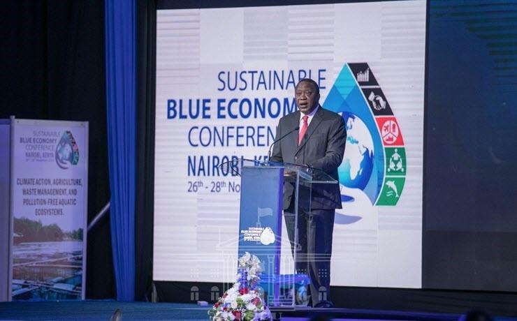 Uhuru Kenyatta on Blue Economy